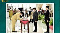 13 pejabat eselon II dilantik