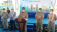 Gubernur Anies Resmikan SPAM Mookervaart