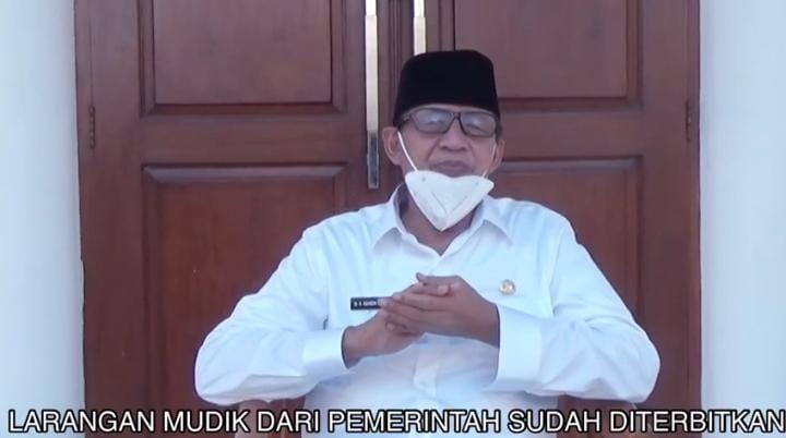 Gubernur Banten Ajak Warga Banten untuk Tidak Mudik Lebaran